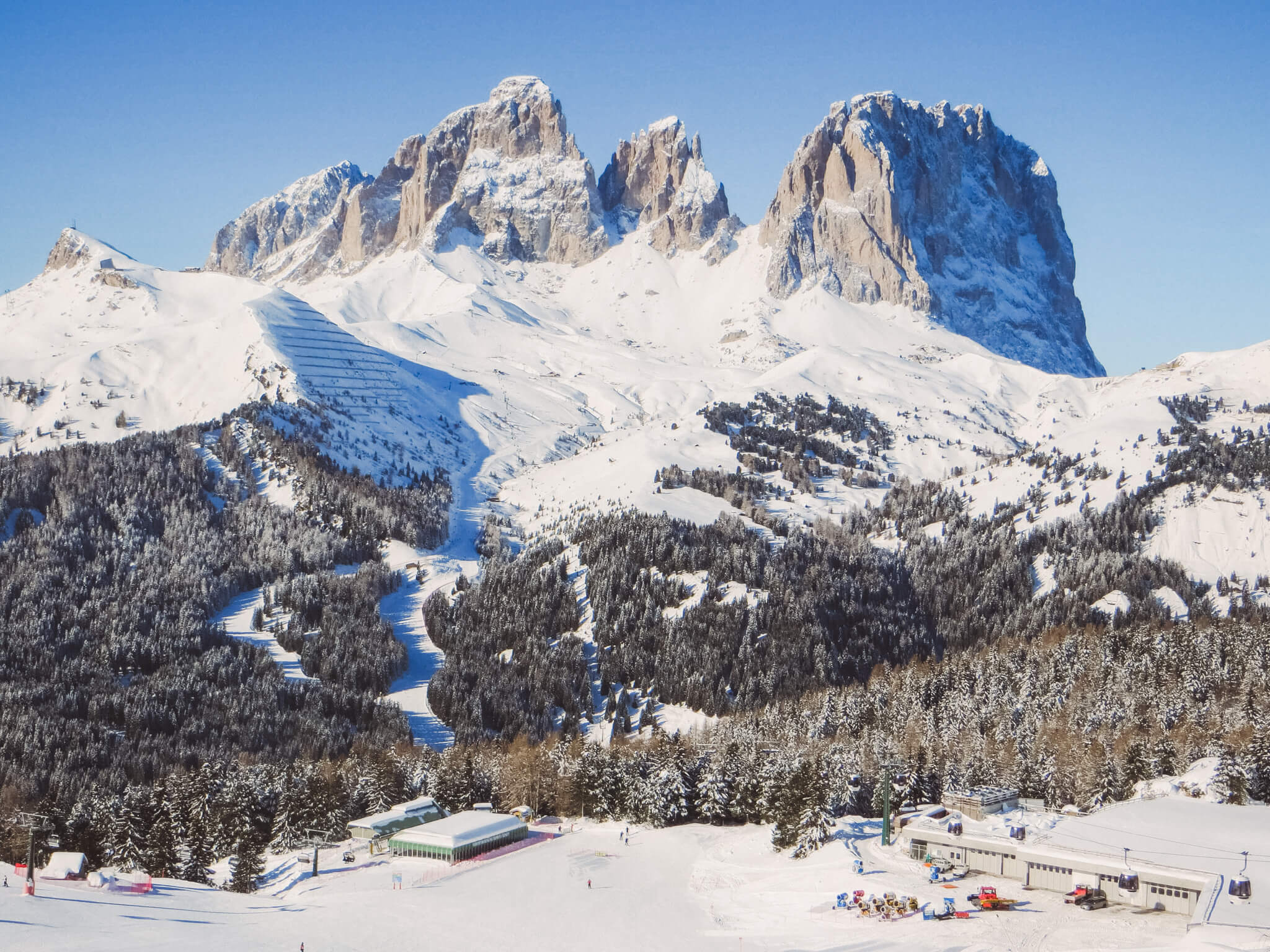 Sellaronda con gli sci: guida completa al Giro dei 4 passi attorno ...