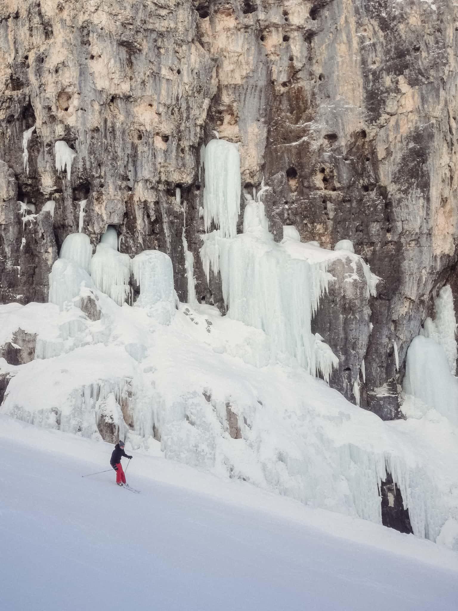 Cascate di ghiaccio lungo l'Armentarola