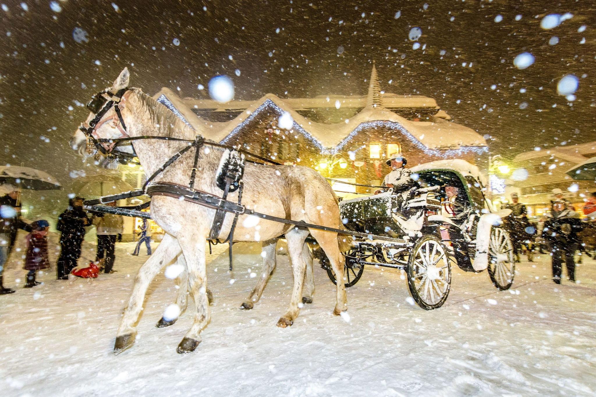 Carnevale sotto la neve - Foto Paolo Luconi