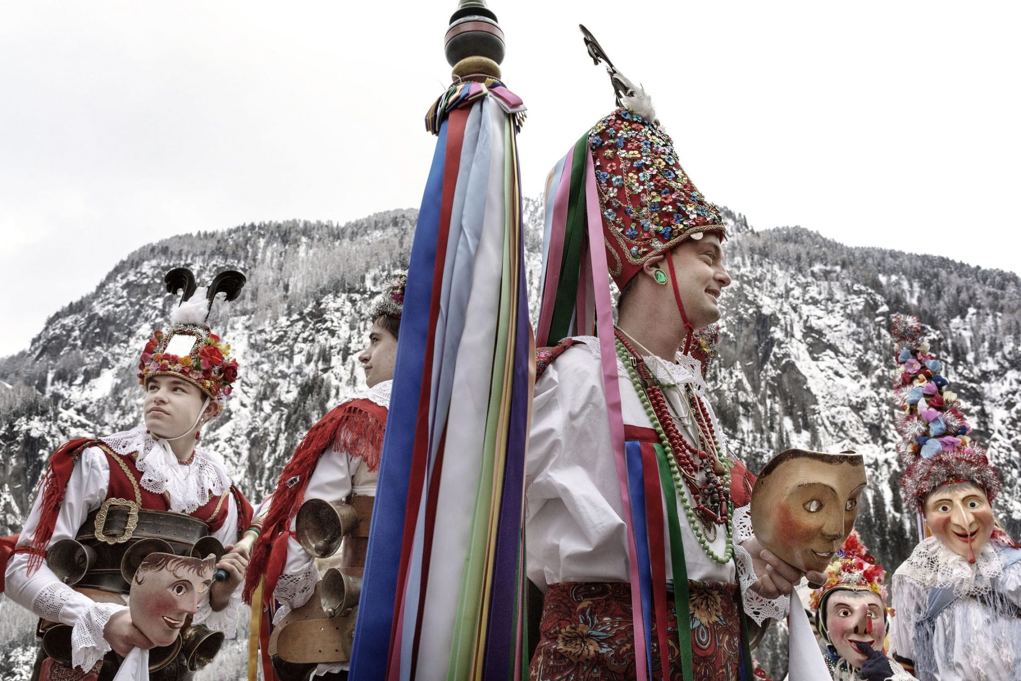 Carnevale Ladino in Trentino - foto Daniele Lira