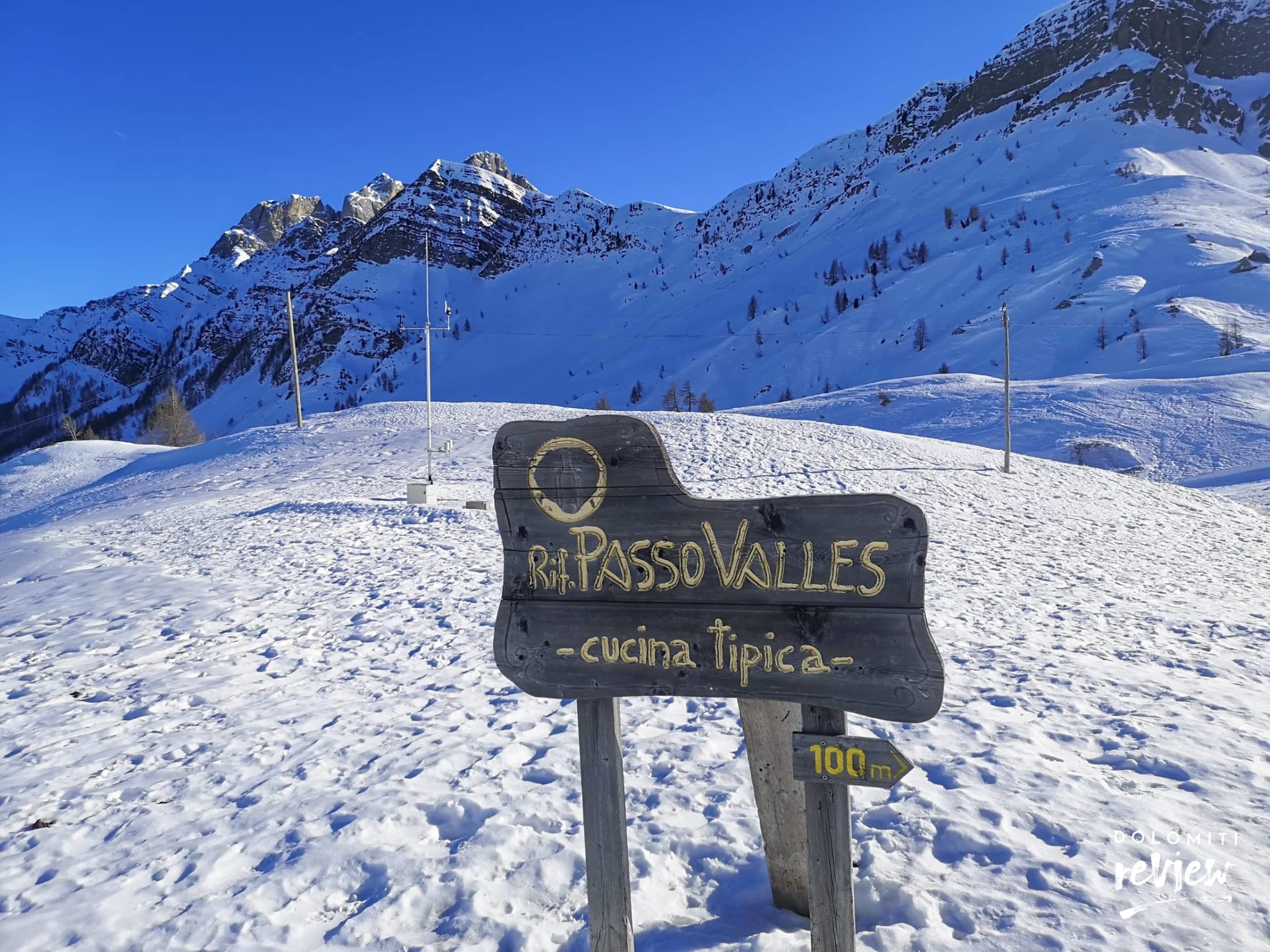 Passo Valles Rifugio
