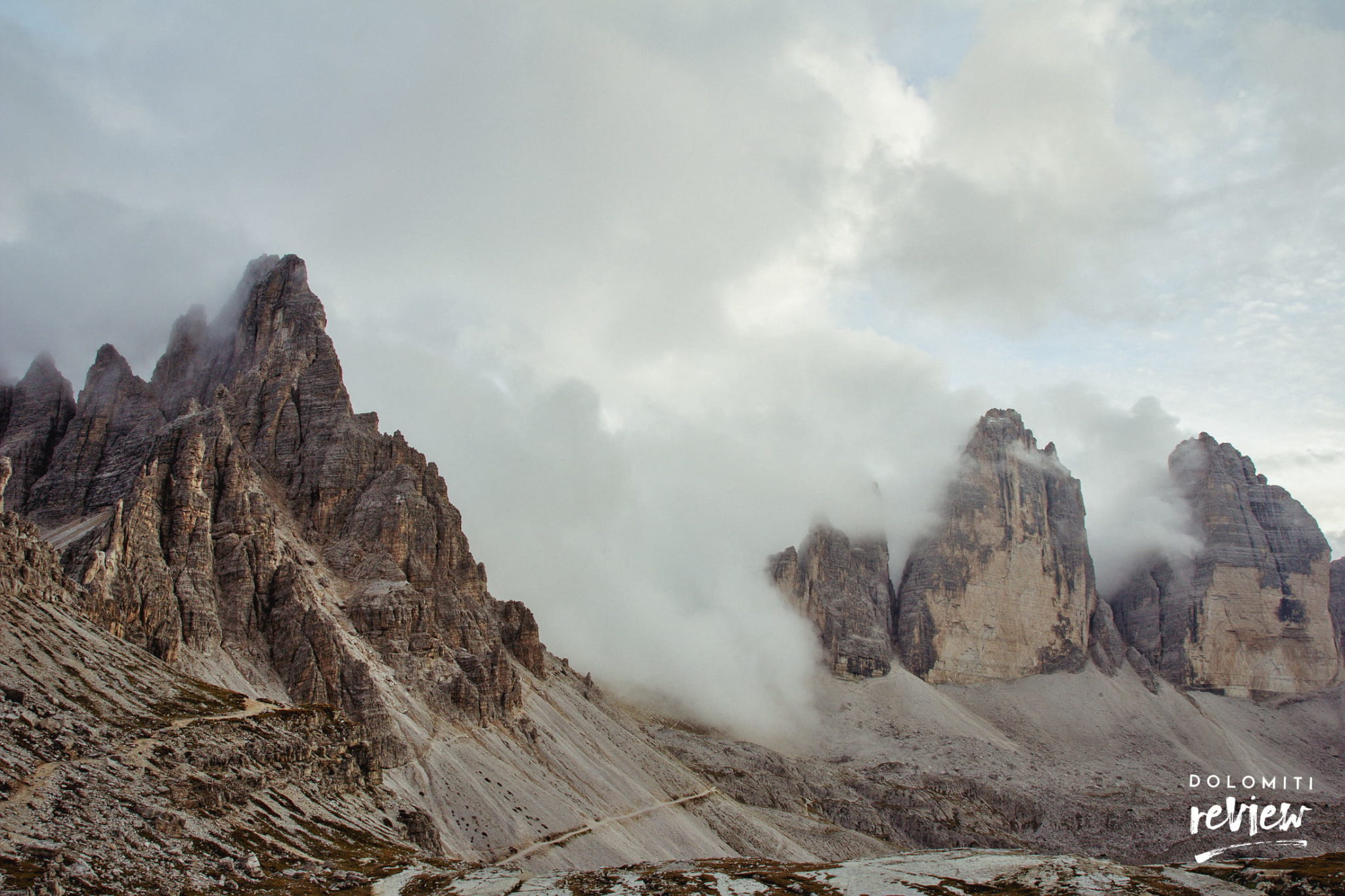 Paterno e Tre Cime di Lavaredo - Foto © Dolomiti Review