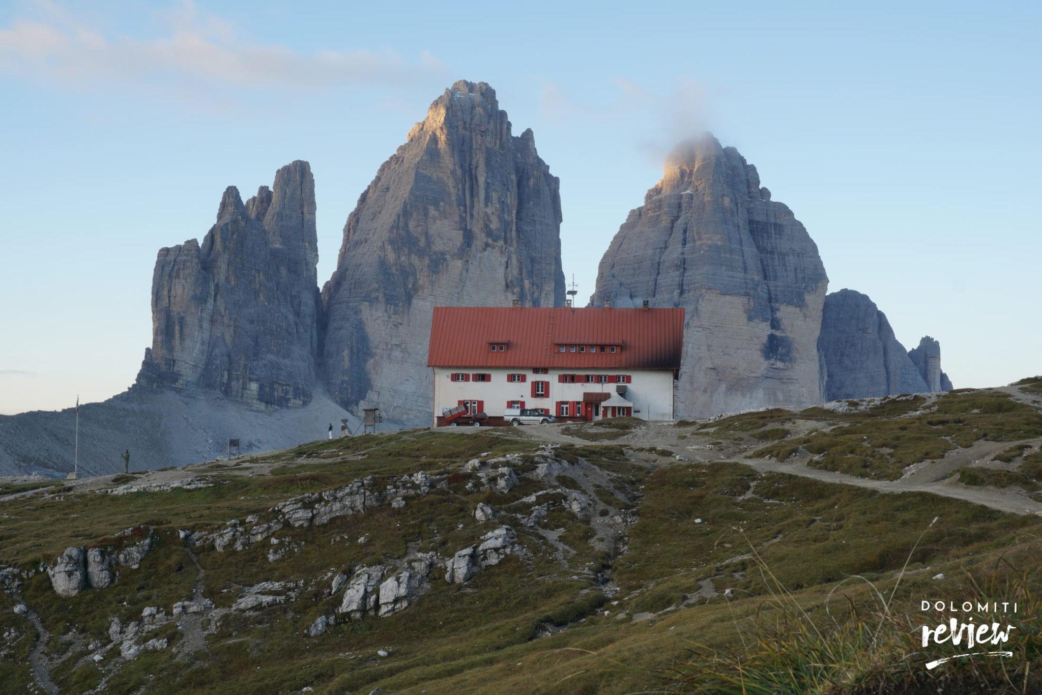 Rifugio Locatelli alle Tre Cime di Lavaredo - Foto © Dolomiti Review
