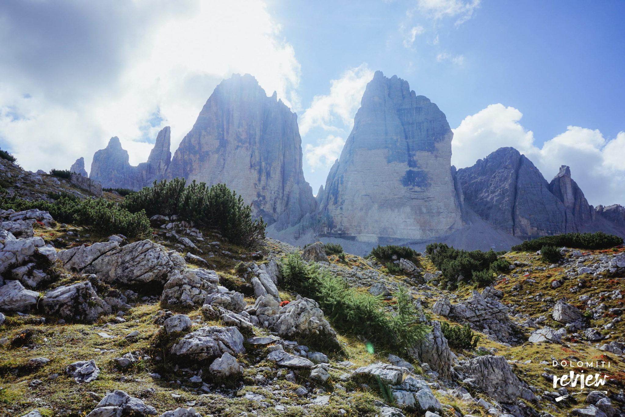 Tre Cime (lato nord) - Foto © Dolomiti Review