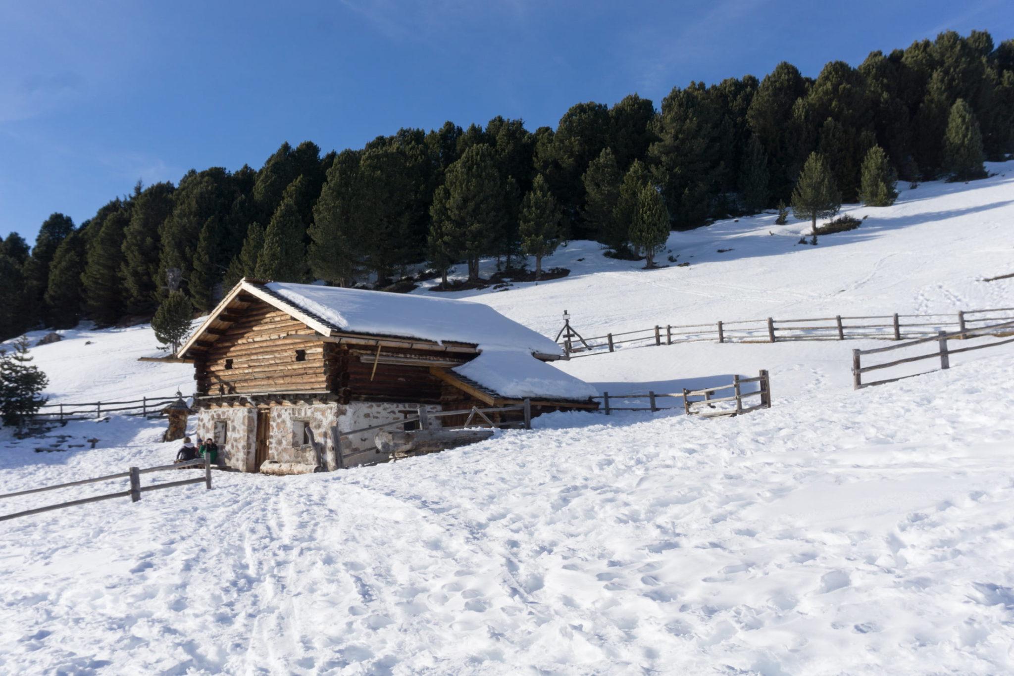 Baita Cason, verso il Resciesa (Ortisei) - Foto © Dolomiti Review