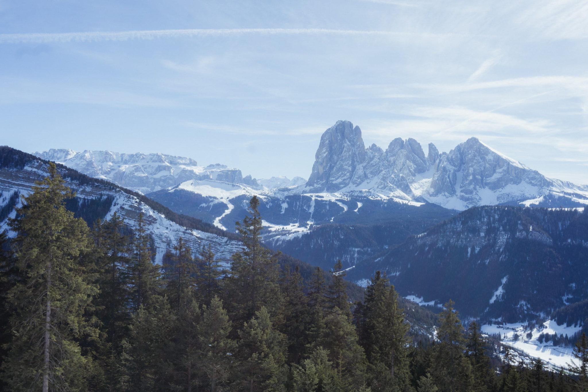Panorama dal Resciesa, Val Gardena - Foto © Dolomiti Review