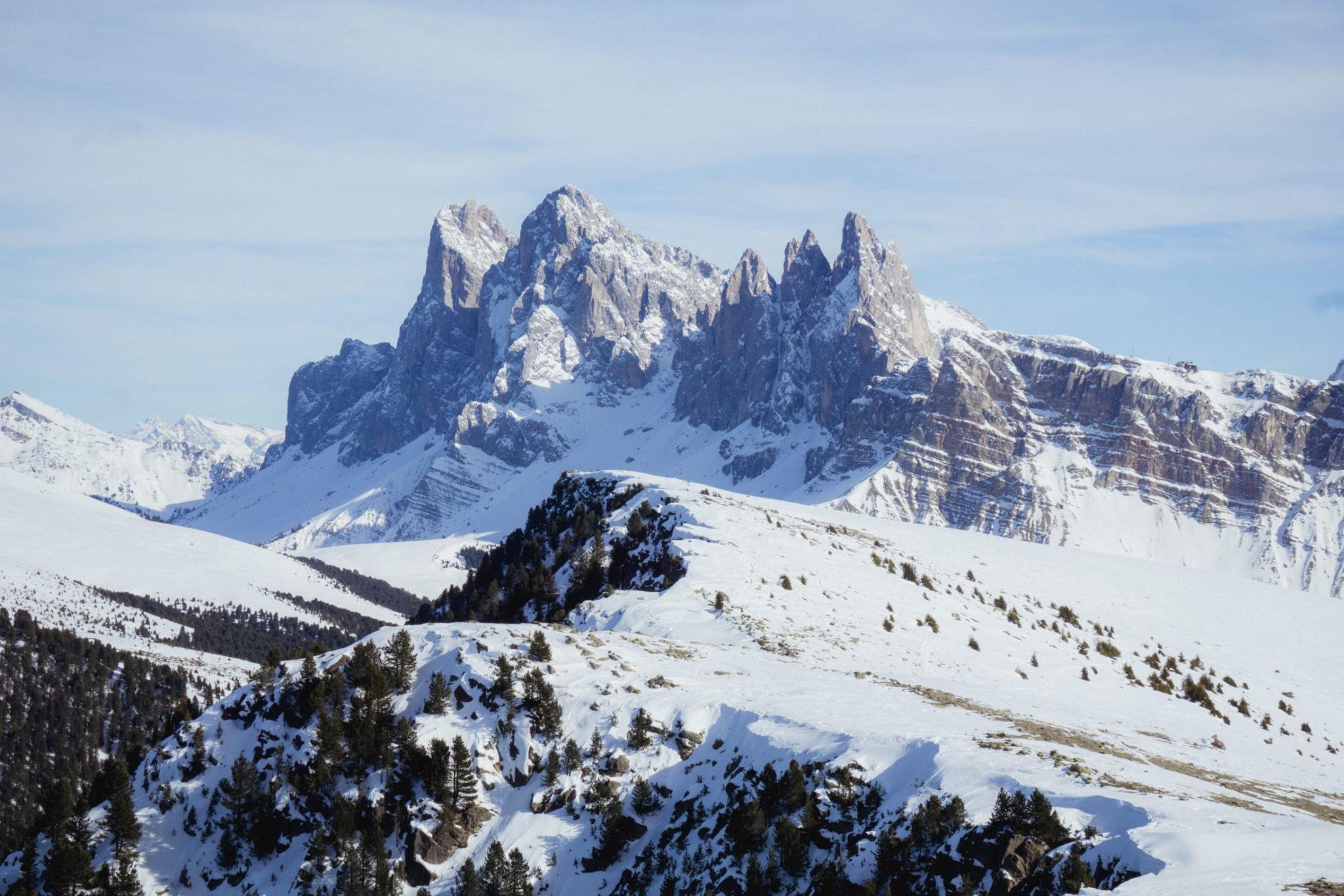 Panorama sulle Odle dal Resciesa - Foto © Dolomiti Review
