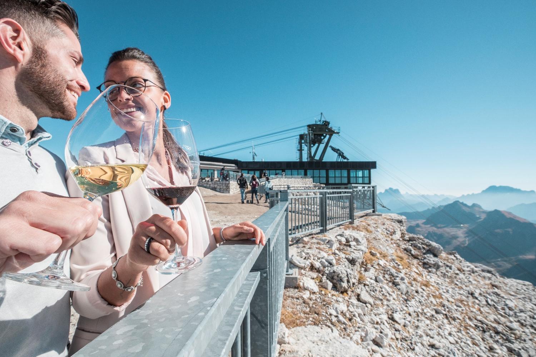 Top Wine 2019 Sul Pordoi La Degustazione Di Vini A 2950