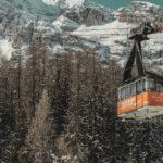 Cabina vintage funivia Cortina - Freccia nel Cielo