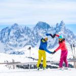 Ski area Passo San Pellegrino impianti apertura inverno