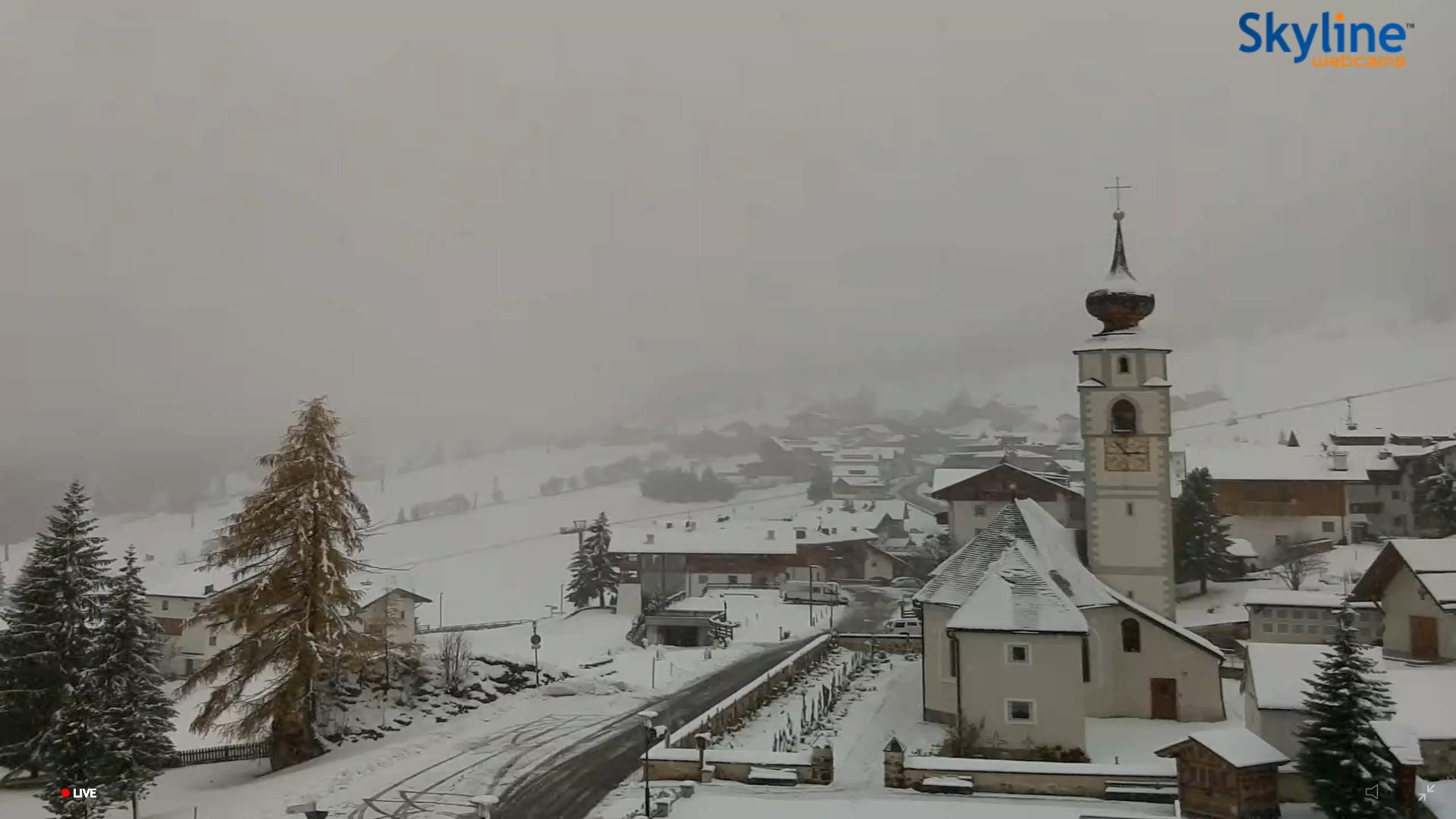 Colfosco neve 8 novembre 2019
