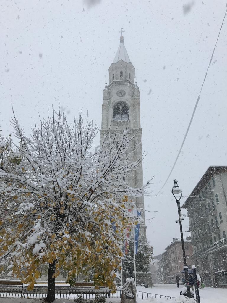 Cortina neve 8 novembre 2019