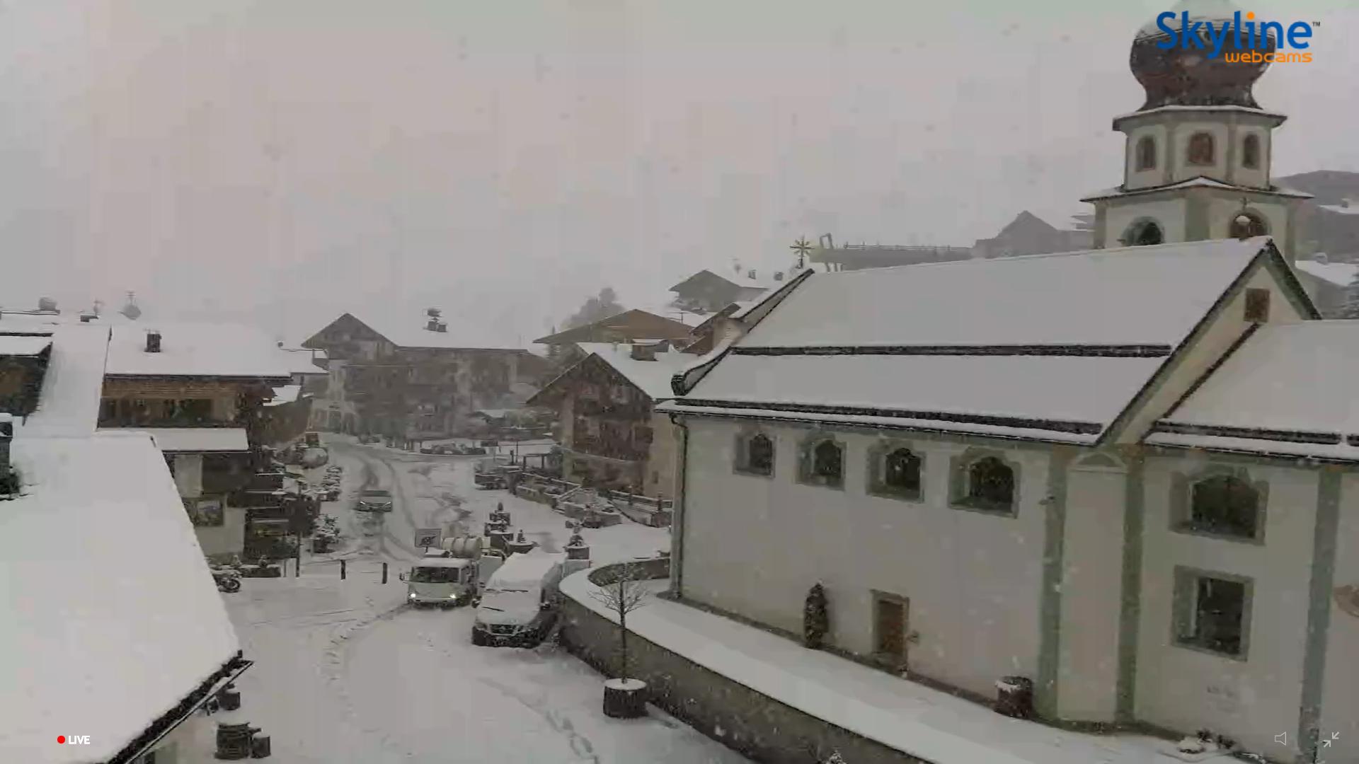San Cassiano neve 8 novembre 2019