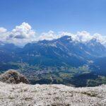 Cortina d'Ampezzo vista dalla Tofana di Rozes - foto Dolomiti Review
