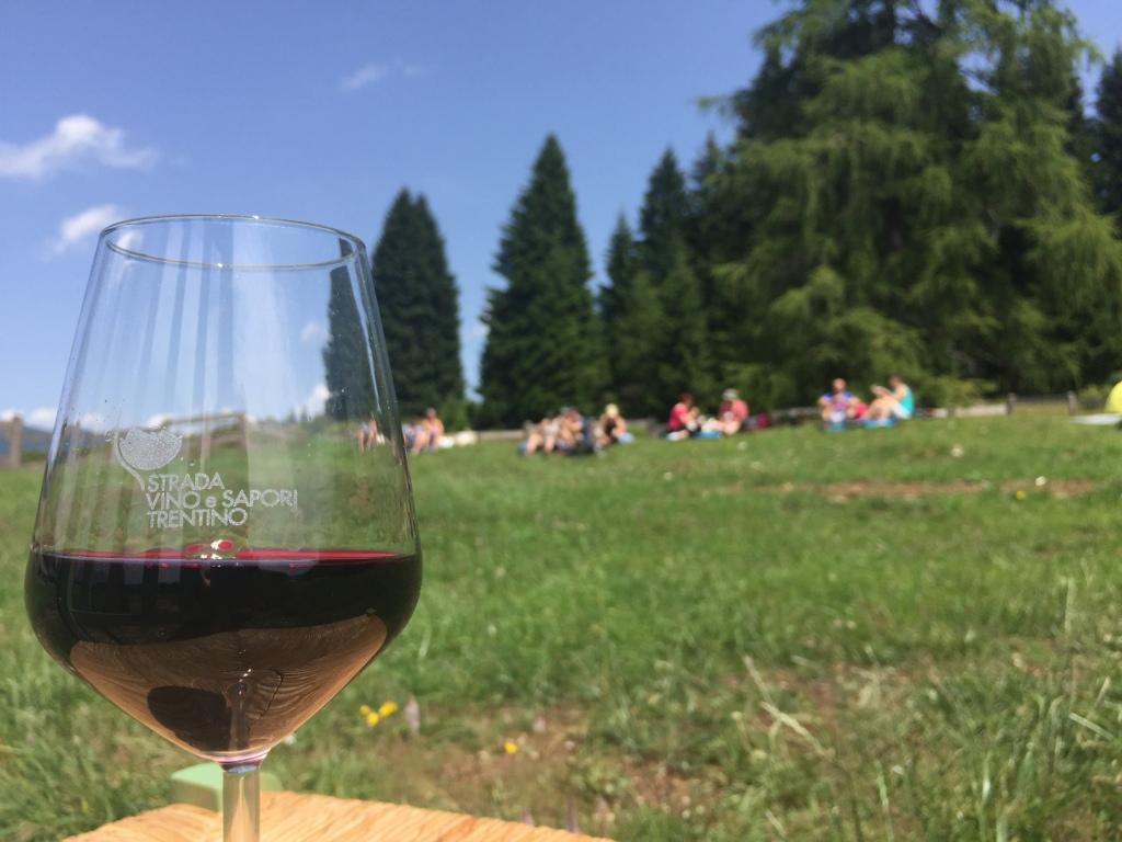 Degustazioni en plein air in Trentino