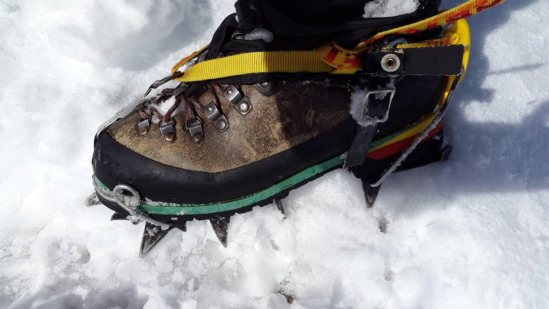 Escursioni invernali ramponi ramponcini