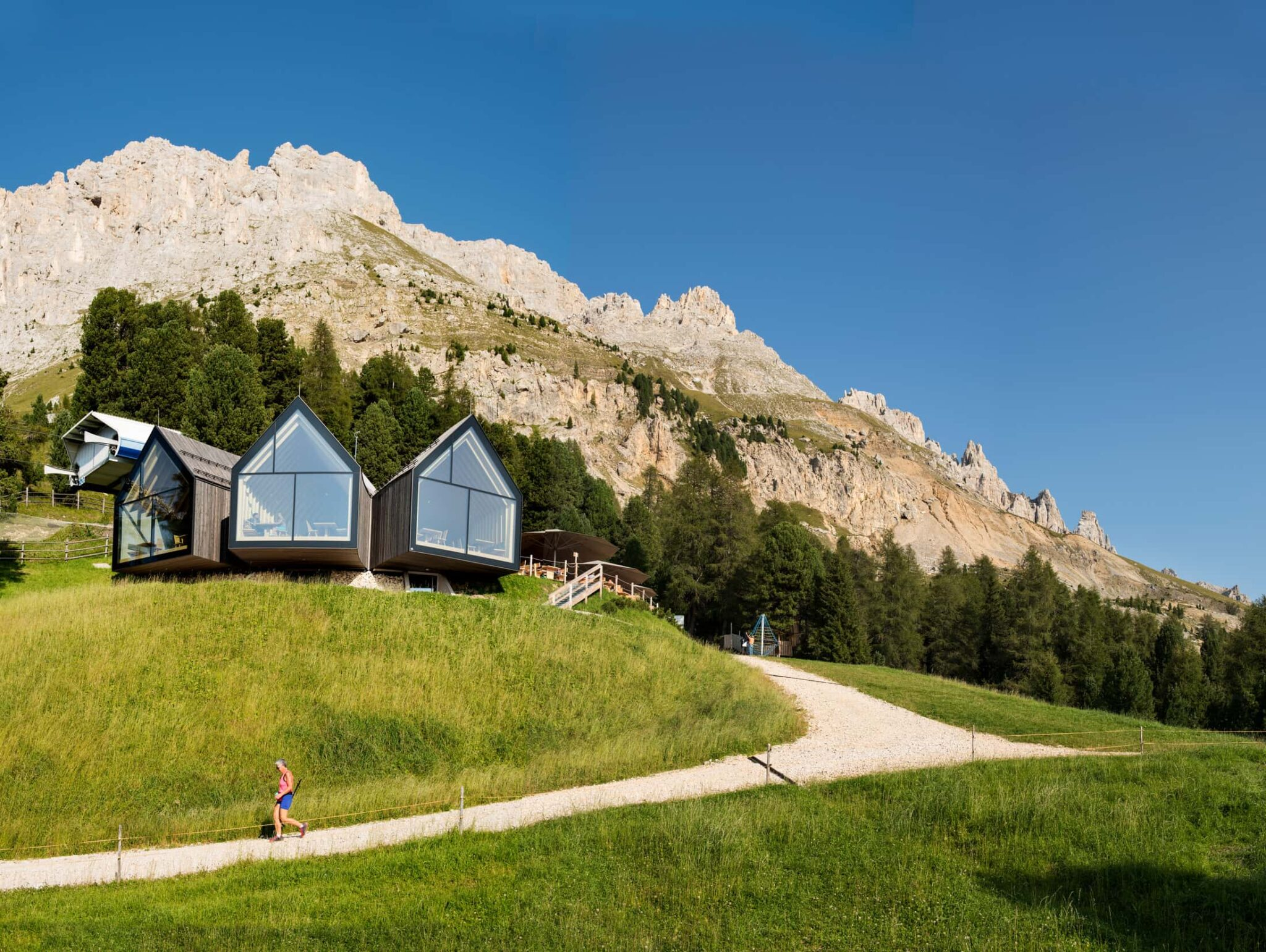 Rifugio Oberholz in estate - foto Mads Mogensen