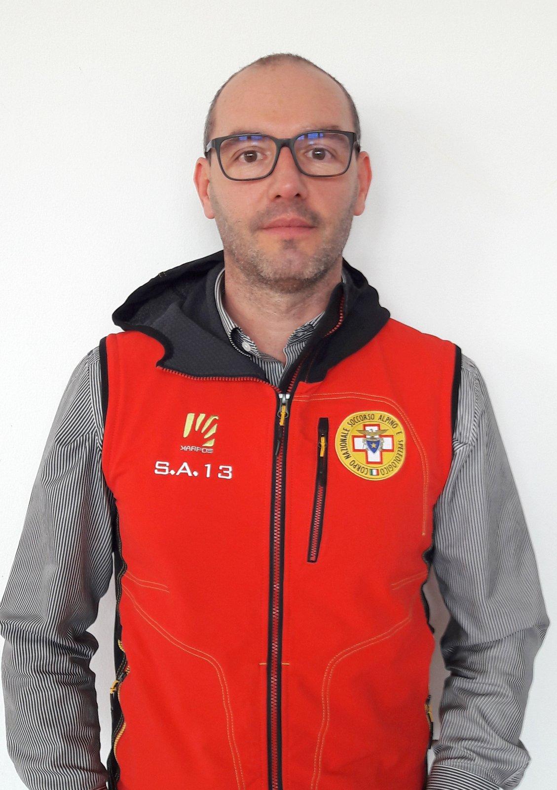 Alex Barattin, delegato Soccorso Alpino Dolomiti Bellunesi CNSAS