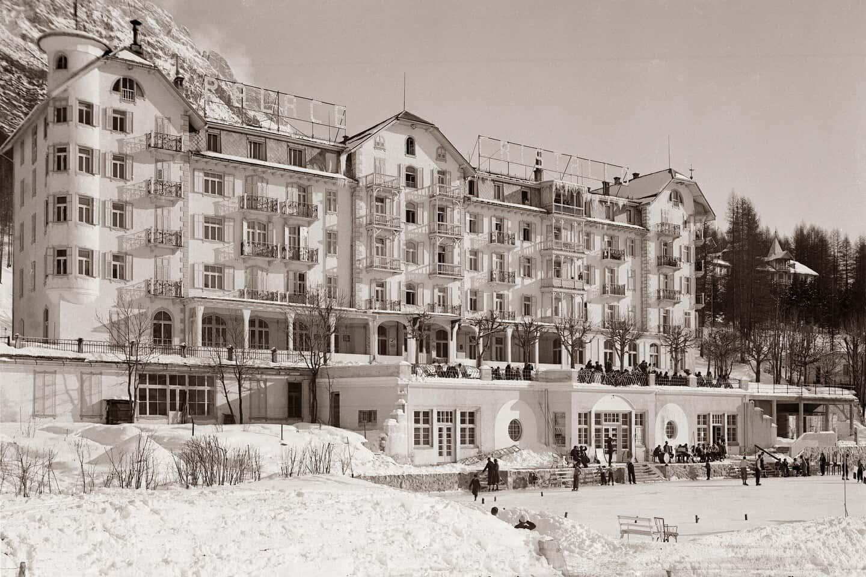 Palace Hotel Cristallo all'inizio del '900 - Cortina d'Ampezzo