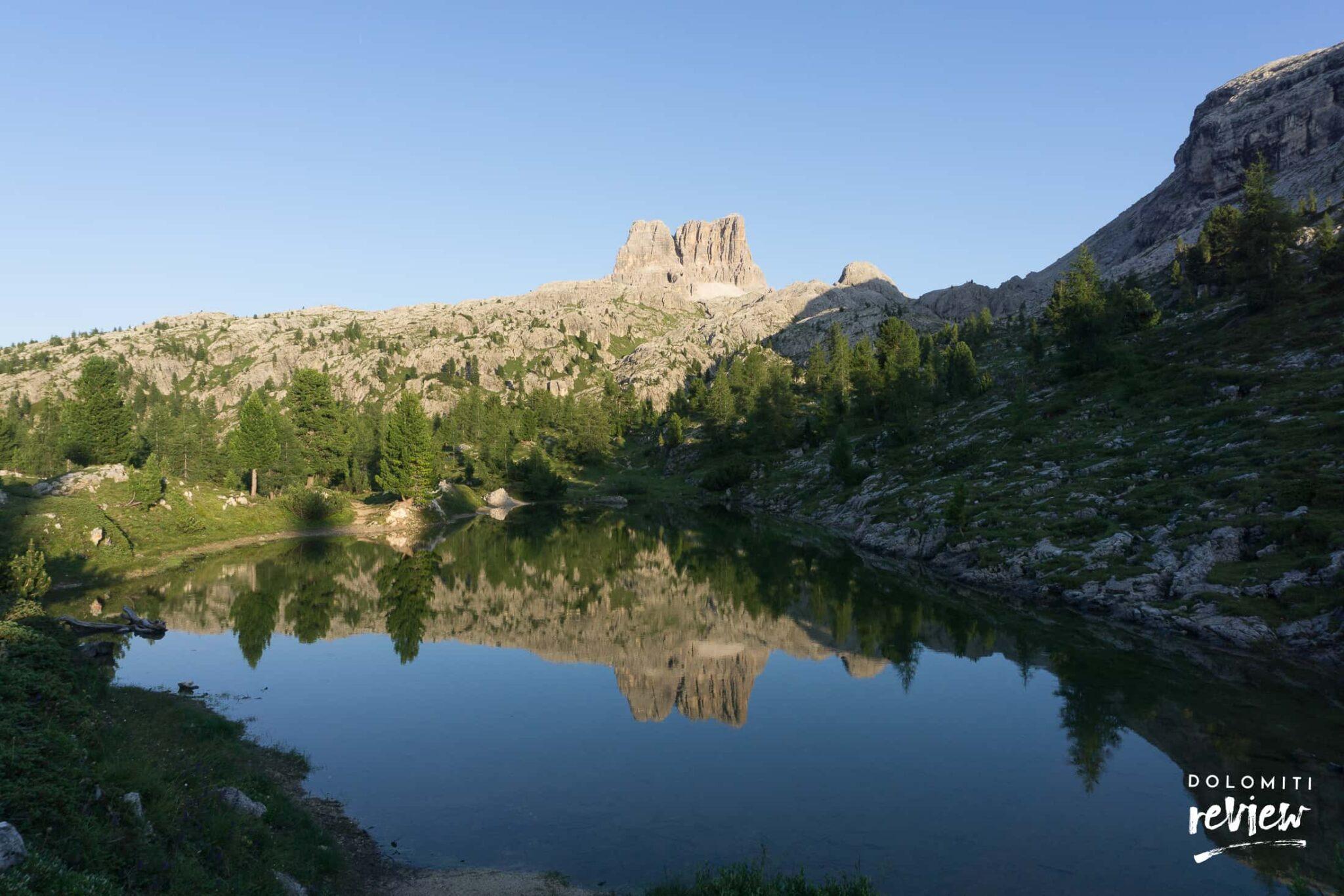 Lago di Limides e Averau