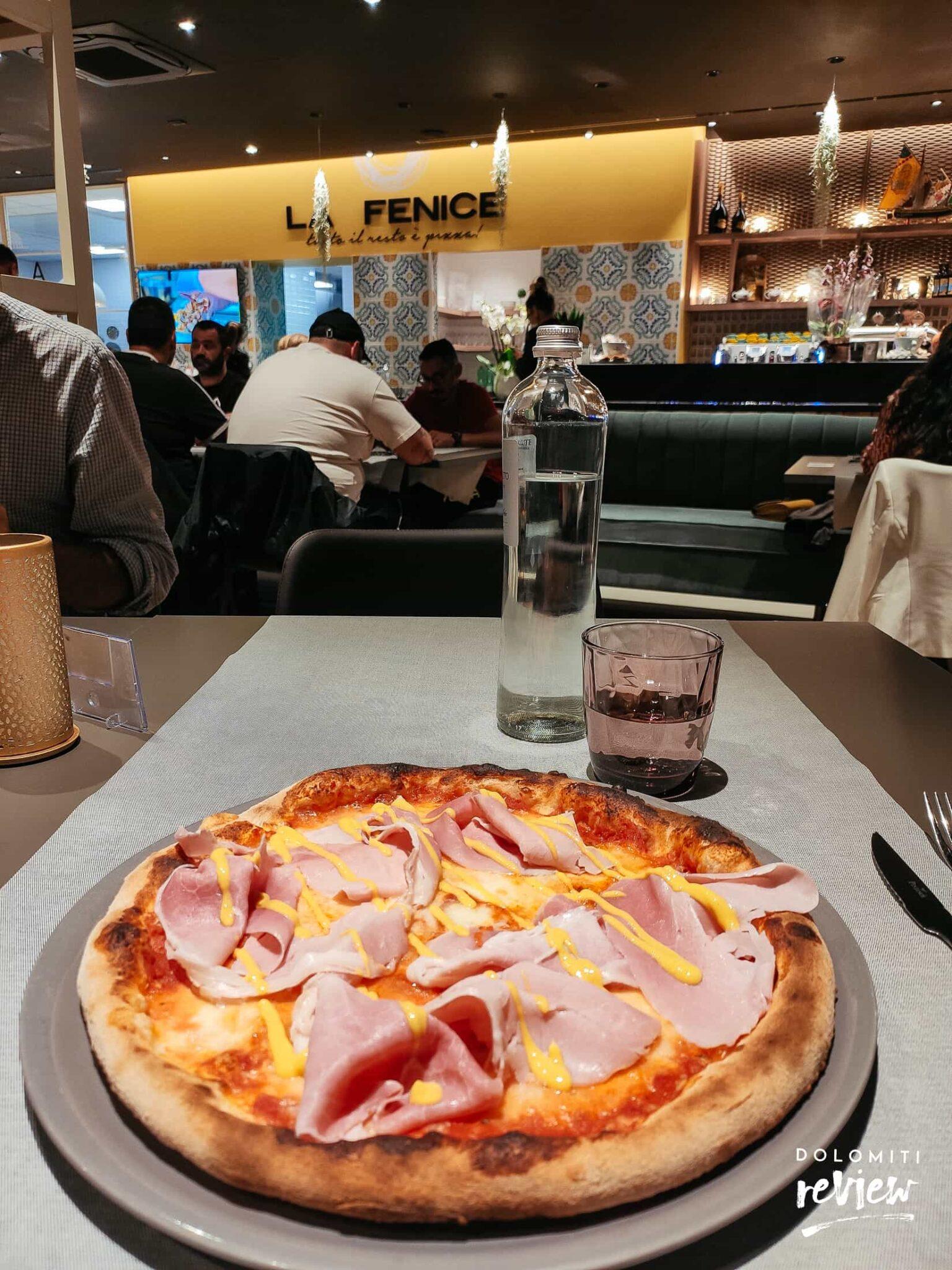 Pizza cotto alla senape - Pizzeria La Fenice